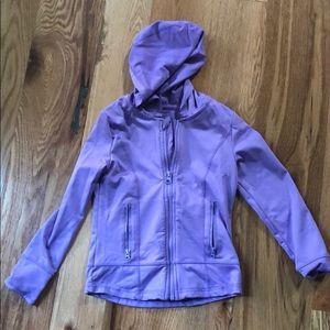 Girls size 5-6 athletic hoodie